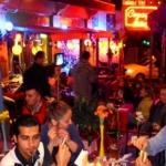 Magic cafe bar restaurant