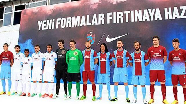 Trabzonspor'un yeni forması tanıtıldı!