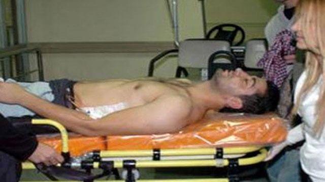 Kayserisporlu sporcu bıçaklandı!