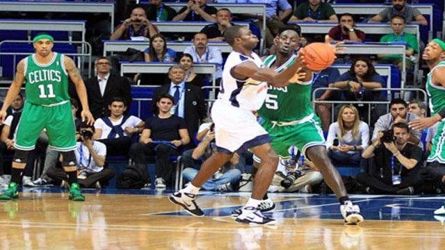 F.Bahçe Ülker, Boston Celtics'i devirdi!